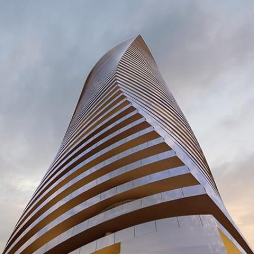 طراحی نما ساختمان رسپینا